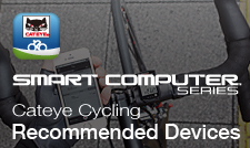 CATEYE Cycling App Recommended Devices