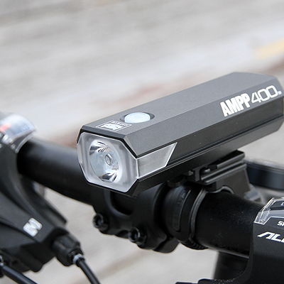Bicycle Light Cateye HL-EL084RC AMPP400 USB Black