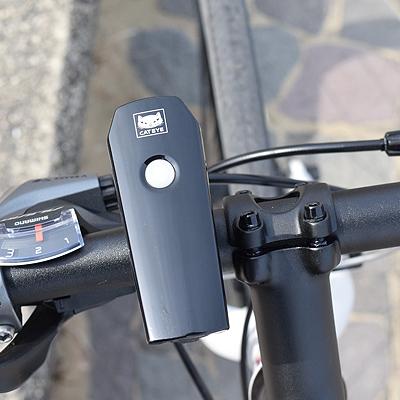 CAT EYE VOLT200 HL-EL151RC LED USB rechargeable headlight  black