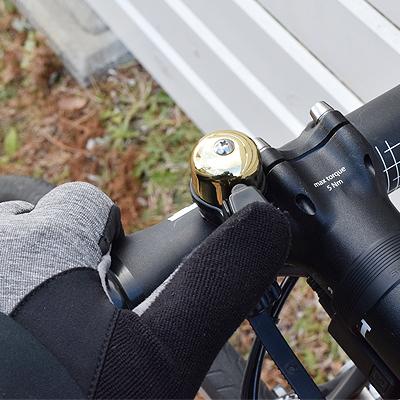 Cat Eye CAT EYE bicycle Bell OH-2400 brass black