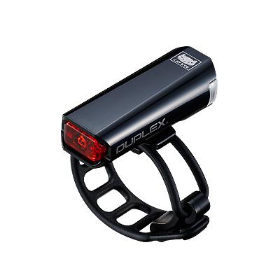 New CatEye Duplex Helmet Light Front /& Rear SL-LD400 Bike Cycling Safety